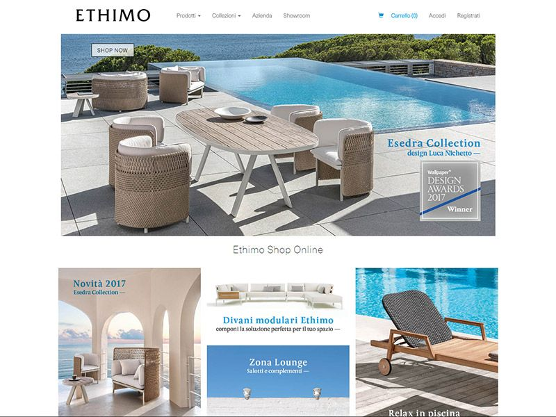 Ethimo E-Commerce