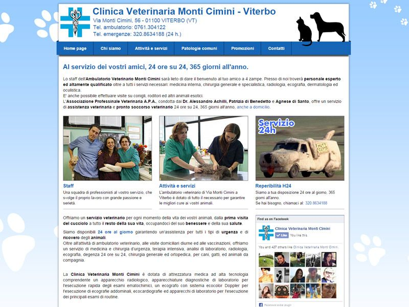 Ambulatorio Veterinario Monti Cimini
